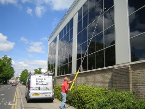 Office window cleaning in Bath