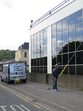 Window cleaning commercial Bath properties